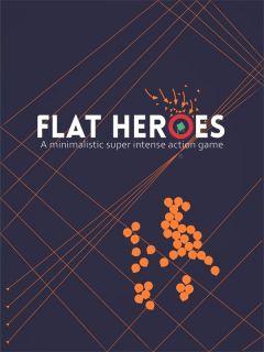Jaquette de Flat Heroes PS4