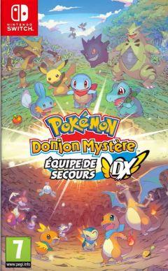Jaquette de Pokémon Donjon Mystère : Equipe de Secours DX Nintendo Switch