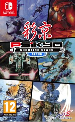 Jaquette de Psikyo Shooting Stars Alpha Nintendo Switch