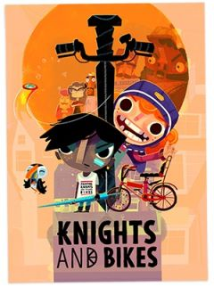 Jaquette de Knights and Bikes PS4