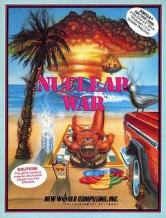 Jaquette de Nuclear War Amiga