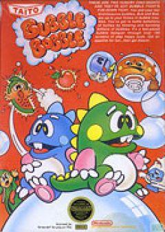 Jaquette de Bubble Bobble NES