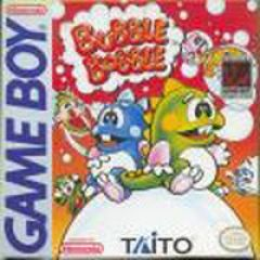 Jaquette de Bubble Bobble Game Boy