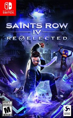Jaquette de Saints Row IV : Re-Elected & Gat Out of Hell Nintendo Switch
