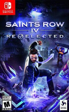 Jaquette de Saints Row IV : Re-Elected & Gat Out of Hell Nintendo Switch