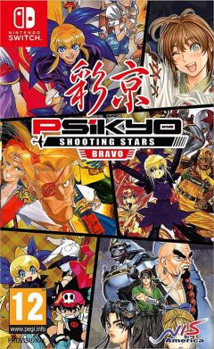 Jaquette de Psikyo Shooting Stars Bravo Nintendo Switch