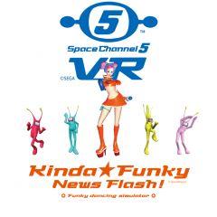 Jaquette de Space Channel 5 VR : Kinda Funky News Flash! Oculus Quest