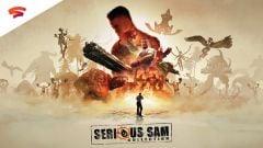 Jaquette de Serious Sam Collection Google STADIA