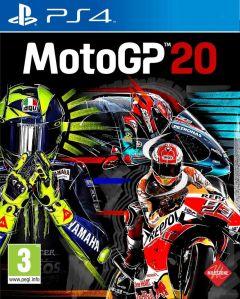 Jaquette de MotoGP 20 PS4