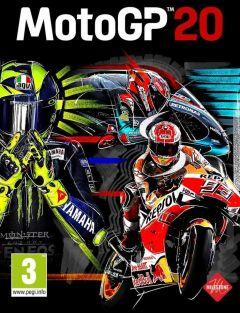 Jaquette de MotoGP 20 Google STADIA