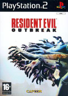 Jaquette de Resident Evil Outbreak PlayStation 2