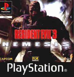 Jaquette de Resident Evil 3 : Nemesis PlayStation