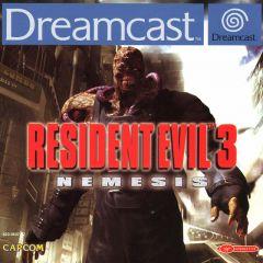Jaquette de Resident Evil 3 : Nemesis Dreamcast