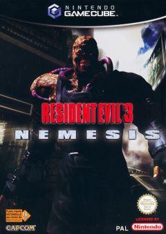 Jaquette de Resident Evil 3 : Nemesis GameCube