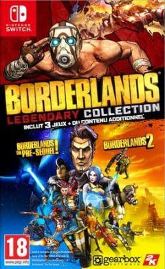 Jaquette de Borderlands Legendary Collection Nintendo Switch