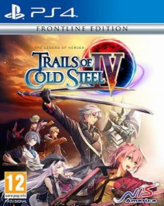 Jaquette de The Legend of Heroes : Trails of Cold Steel IV -The End of Saga- PS4