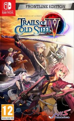 Jaquette de The Legend of Heroes : Trails of Cold Steel IV -The End of Saga- Nintendo Switch