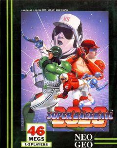Jaquette de Super Baseball 2020 NeoGeo
