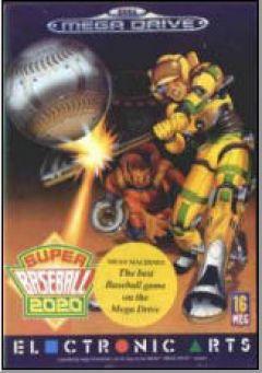 Jaquette de Super Baseball 2020 Megadrive