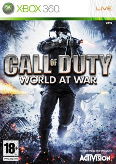 Jaquette de Call of Duty : World at War Xbox 360