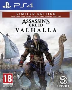 Jaquette de Assassin's Creed Valhalla PS4