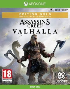 Jaquette de Assassin's Creed Valhalla Xbox One