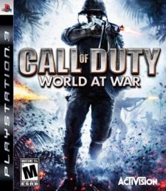 Jaquette de Call of Duty : World at War PlayStation 3