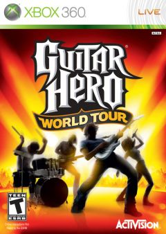 Jaquette de Guitar Hero World Tour Xbox 360