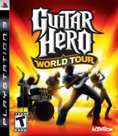 Jaquette de Guitar Hero World Tour PlayStation 3