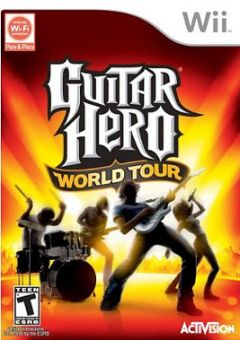 Jaquette de Guitar Hero World Tour Wii