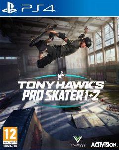 Jaquette de Tony Hawk's Pro Skater 1+2 PS4