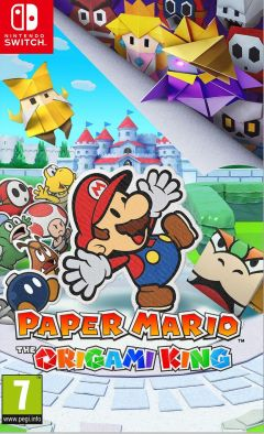 Jaquette de Paper Mario : The Origami King Nintendo Switch
