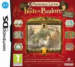 Jaquette de Professeur Layton et la Boîte de Pandore DS
