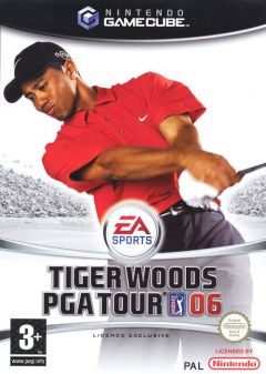 Jaquette de Tiger Woods PGA Tour 06 GameCube