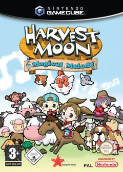 Jaquette de Harvest Moon : Mélodie Magique GameCube