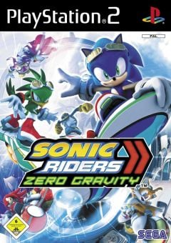 Jaquette de Sonic Riders : Zero Gravity PlayStation 2