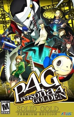 Jaquette de Persona 4 : Golden PC