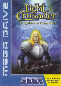 Jaquette de Light Crusader Megadrive