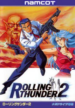 Jaquette de Rolling Thunder 2 Mega Drive