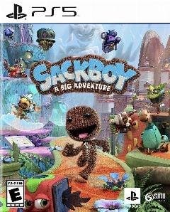 Jaquette de Sackboy : A Big Adventure PS5