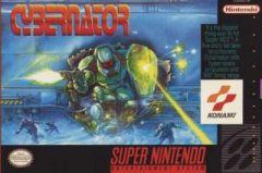 Jaquette de Cybernator Super NES