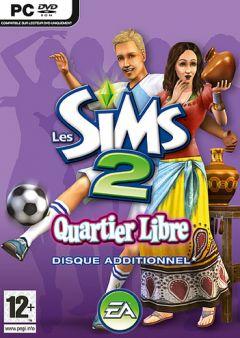 Jaquette de Les Sims 2 : Quartier Libre PC