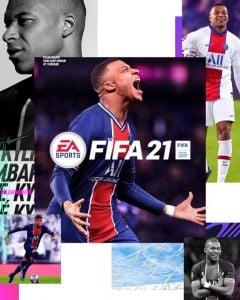 Jaquette de FIFA 21 PS5