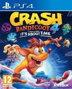 Jaquette de Crash Bandicoot 4 It's About Time PS4