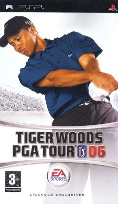 Jaquette de Tiger Woods PGA Tour 06 PSP
