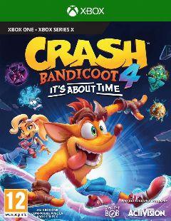 Jaquette de Crash Bandicoot 4 It's About Time Xbox One