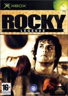 Jaquette de Rocky Legends Xbox