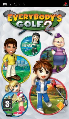 Jaquette de Everybody's Golf 2 PSP