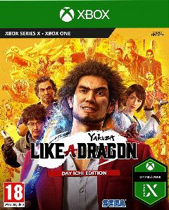 Jaquette de Yakuza Like a Dragon Xbox One