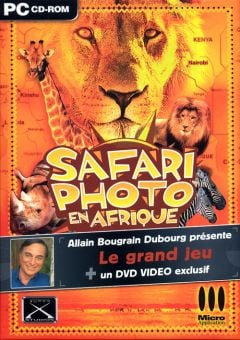 Jaquette de Safari Photo en Afrique PC